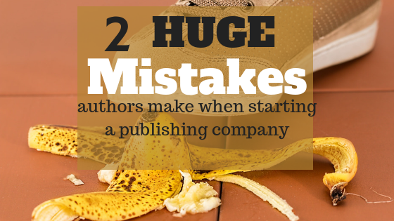 common publishing mistakes